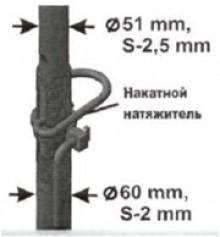 Стойка телескопическая СТ-4,2