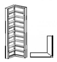 Щиты угловые внутренние (ЩУВ) Н=3,3 метра