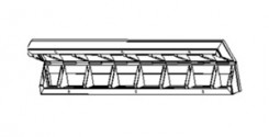 Щиты шарнирные (ЩШ) Н=3,3 метра