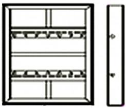 Надставка щита колонны